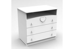 Комод Мечта белый - Мебельная фабрика «Феалта»