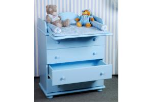 Комод пеленальный голубой - Мебельная фабрика «Святогор Мебель»