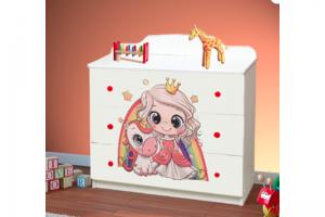 Комод Принцесса - Мебельная фабрика «Эльбрус-М»