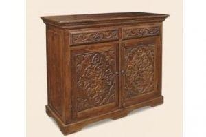 Комод распашной Лира с резьбой - Мебельная фабрика «Пайнс»