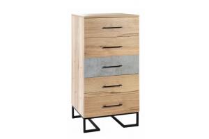 Комод с 5 ящиками Loft - Мебельная фабрика «Perrino»