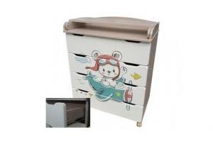 Комод с пеленальным столиком Сафаня №2 - Мебельная фабрика «Сафаня»