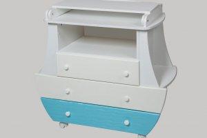 Комод с пеленальным столиком Сафаня Капитан - Мебельная фабрика «Сафаня»