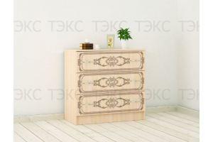 Комод с узором Миледи - Мебельная фабрика «ТЭКС»