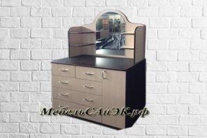 Комод с зеркалом 0019 - Мебельная фабрика «САнЭК»