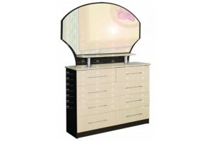Комод с зеркалом Трельяж Амалия 10 - Мебельная фабрика «Росток-мебель»