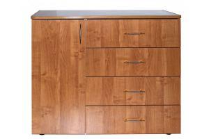 Комод СБ-20Ш с ящиками и тумбой - Мебельная фабрика «Сходня Мебель»