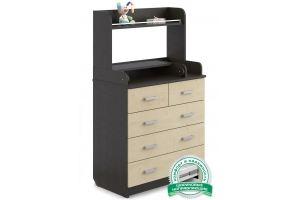 Комод Сириус 2 Полка 805 венге клен - Мебельная фабрика «Атон-мебель»