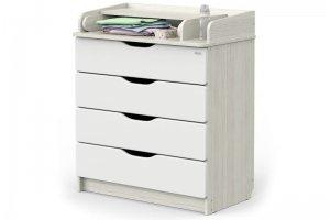 Комод Сириус 2 Wood Древесина белая - Мебельная фабрика «Атон-мебель»