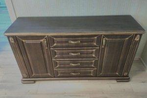 Комод темный под старину - Мебельная фабрика «Вся Мебель»