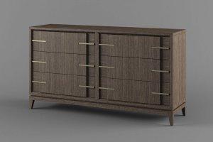 Комод в спальню Бостон 3 - Мебельная фабрика «Вилейская мебельная фабрика»