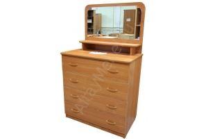 Широкий комод с зеркалом Вилли - Мебельная фабрика «Алтай-Командор»