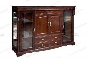 Комод витрина Паола 310 - Мебельная фабрика «Фабрика натуральной мебели»