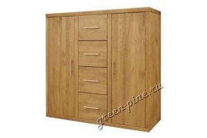 Комод высокий Плато 2/4 - Мебельная фабрика «Зеленая Сосна»