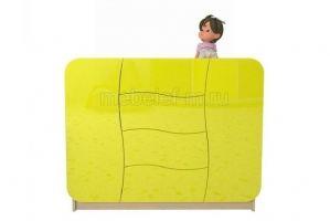 Комод желтый Мебелеф 38 - Мебельная фабрика «МебелеФ»