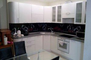 Компактная белая кухня - Мебельная фабрика «ДОН-Мебель»