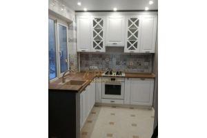 Компактная белая кухня - Мебельная фабрика «Кредо»