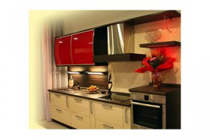Компактная кухня МЕРИБЕЛЬ - Изготовление мебели на заказ «КухниДар»