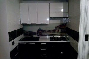 Компактная прямая кухня - Мебельная фабрика «ДОН-Мебель»
