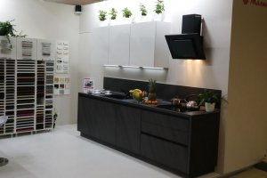 Компактная Прямая кухня - Мебельная фабрика «Малина»