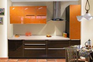 Компактная прямая кухня - Мебельная фабрика «Актуаль-М»