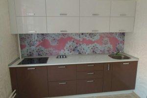 Компактная прямая кухня - Мебельная фабрика «Виста»