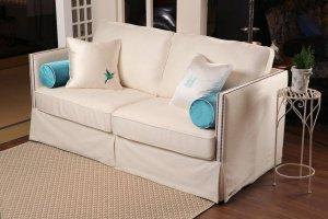Компактный бежевый диван Габриэль - Мебельная фабрика «Рой Бош»