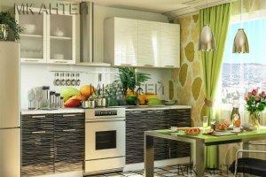 Компактный кухонный гарнитур Страйп - Мебельная фабрика «Антей»