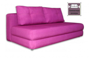 Компактный розовый диван Джой - Мебельная фабрика «SID Диваны»