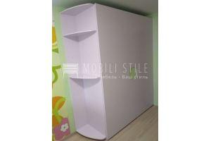 Компланарный шкаф в детскую в сиреневых тонах - Мебельная фабрика «Стильная мебель»