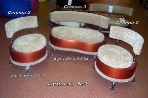 Комплект банкеток №1 - Мебельная фабрика «Домосед»