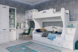 Комплект детский на двоих Белоснежка - Мебельная фабрика «Инволюкс»