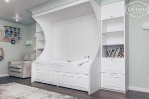 Комплект детской мебели белый - Мебельная фабрика «Триана»