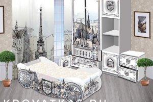 Комплект детской мебели Франция - Мебельная фабрика «Рим Декор»