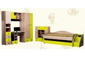 Комплект детской мебели Квадро 01 - Мебельная фабрика «AvtoBaby»