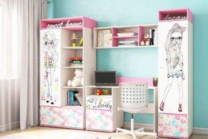 Комплект для детской Алиса 1 - Мебельная фабрика «Ваша мебель»