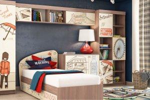 Комплект для детской Лондон 4 - Мебельная фабрика «Ваша мебель»