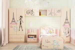 Комплект для детской Париж 2 - Мебельная фабрика «Ваша мебель»