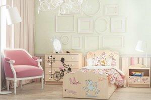 Комплект для детской Париж 4 - Мебельная фабрика «Ваша мебель»