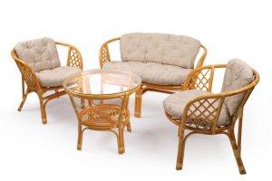 Комплект для отдыха из натурального ротанга - Мебельная фабрика «Мебель Импэкс»