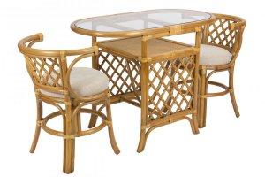 Комплект для отдыха из натурального ротанга Breakfast - Мебельная фабрика «Мебель Импэкс»