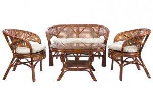 Комплект для отдыха из натурального ротанга Pelangi - Мебельная фабрика «Мебель Импэкс»