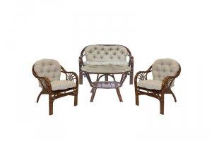 Комплект для отдыха из натурального ротанга Roma - Мебельная фабрика «Мебель Импэкс»