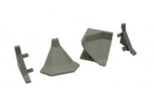 Комплект для плинтуса под кромку Арт.63.02.1 - Оптовый поставщик комплектующих «Европа»