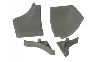 Комплект для установки плинтуса серый - Оптовый поставщик комплектующих «СЛОРОС»