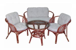 Комплект из ротанга Багама коньяк - Импортёр мебели «ТМК»