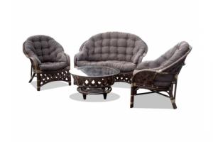 Комплект из ротанга Копакабана темный - Импортёр мебели «ТМК»