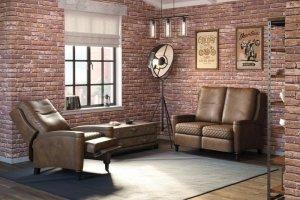 Комплект кожаной мебели Лютон - Мебельная фабрика «Фаворит»