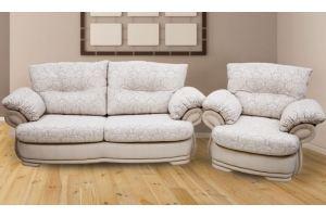 Комплект мебели диван и кресло Адель 32 - Мебельная фабрика «Гарант»