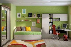 Комплект мебели для детской 1 - Мебельная фабрика «Эльба-Мебель»